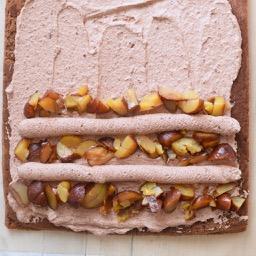 グルテンフリー 栗とチョコのブッシュドノエル Nao Cafe お菓子 パンのレシピや作り方 Cotta コッタ